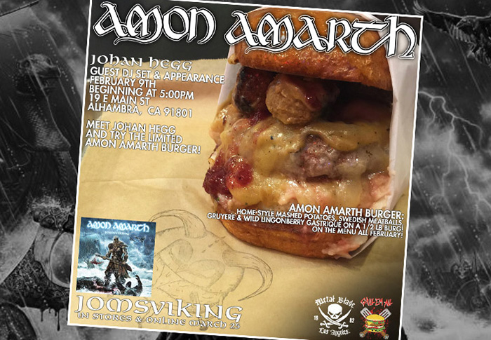 Flyers created for events such as <br> Burgers of the Month